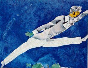 Chagall il viaggiatore 1917